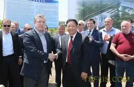 سرمایه گذاری یک شرکت چینی برای ساخت کارخانه سیمان در گرجستان
