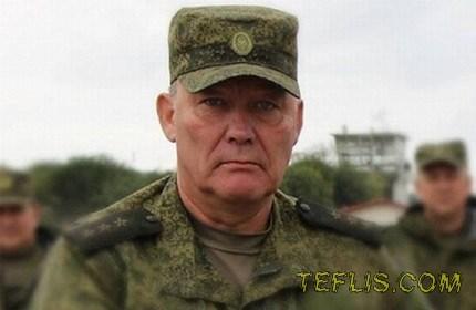انتصاب فرمانده نیروهای نظامی روسیه در جنگ با گرجستان به فرماندهی نیروهای روس در سوریه