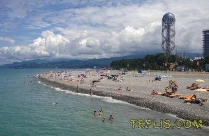 رشد تعداد گردشگران خارجی در باتومی گرجستان