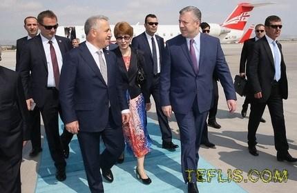 سفر نخست وزیر گرجستان به ترکیه