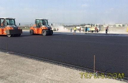 پایان عملیات مرمت و بازسازی باند اصلی فرودگاه بین المللی تفلیس