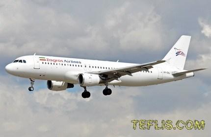 شروع پروازهای هواپیمایی زاگرس به گرجستان